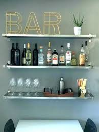 bar glass shelves bar wall shelves for liquor shelves for liquor bottles floating glass shelves for
