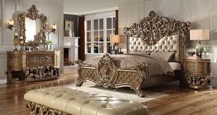 Hd8018 Enzo Formal Bedroom Set With Elegant Carvings