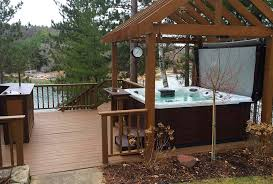 Hot Tub Backyard Ideas Plans Interesting Decorating Design