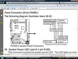 motherboard wiring diagram for power switch led s reset fixya this is the bit your after i believe