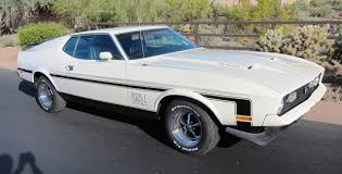 1972 Mustang Mach I - Ram Air 351! For Sale