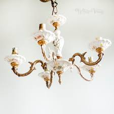 full size of vintage arm capodimonte style fl porcelain chandelier light antique bronze crystal chain silver