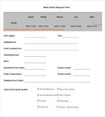 Maintenance Request Form Template Excel 23 Work Order Templates Pdf Doc Free Premium Templates