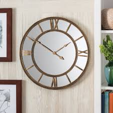 better homes and gardens wall decor and better homes and gardens mirror clock distressed gold