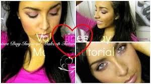 valentines day makeup tutorial beautiful date night makeup look 2016