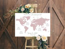 Seating Chart Wedding Travel Wedding Seating Chart Guest List Map Seating Chart