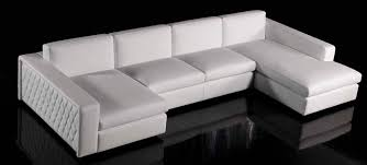 corner sofa contemporary leather 4 seater boston