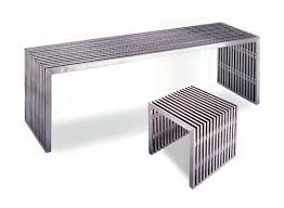 stainless steel benches. Stainless Steel Bench And Stool Benches