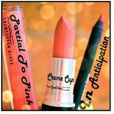 The perfect babydoll pink lip combo : <b>MAC Partial to Pink</b> Lipglass ...