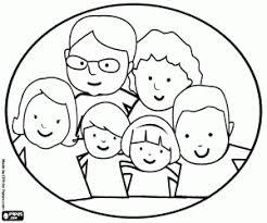 Kleurplaten Familie Kleurplaat 2