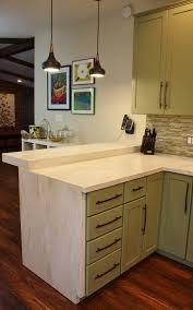 Refinish Bathroom Countertop Refinishing Concrete Countertops 3 Concrete Countertops Before
