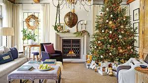 Dana Wolter Living Room Decoated for Christmas