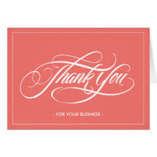 Business Thank You Note Cards Corporate Business Thank You Note Cards On Business Thank You Card