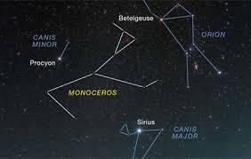Constellation Sky Chart Tour Februarys Sky How To Find Monoceros Sky Telescope
