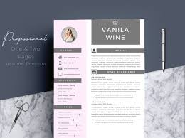 Modern Resume Etsy Creative Resume Resume Template Pages Professional Resume Cv Template Cover Letter Modern Resume References Resume Photo