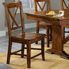 solid wood dining chairs used