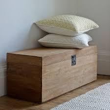 charming blanket storage chest box diy