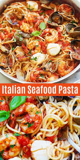 Whether you're craving shrimp, salmon, lobster, or crab, we have you covered. Seafood Pasta With Shrimp Scallops And Clams Rasa Malaysia