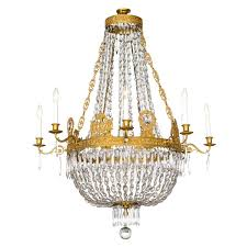 french empire chandelier fine french empire eight light ormolu and crystal chandelier for antique french french empire chandelier