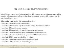 cover letter writing help top 5 risk manager cover letter samples