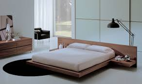 bedroom design contemporary simple. Use Minimalist Wooden Floating Bed As Modern Bedroom Furniture In Simple Room With Dresser Design Contemporary