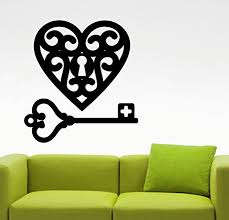 love heart wall sticker romantic decal home interior design living room decorations bedroom wall art girls