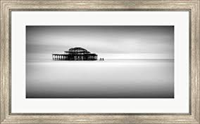 32x20 Frame Amazon Com West Pier Pano By Rob Cherry Framed Art Print