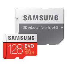 Thẻ Nhớ Micro SD Samsung Evo Plus 128GB U3 Class 10 - 100MB/s (Kèm Adapter)  - Hàng Chính Hãng - Thẻ nhớ điện thoại