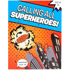 superheroes birthday party invitations amazon com superhero comics party supplies invitations 8
