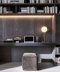 office desk with bookshelf. 505 Bookshelves And Multimedia - Molteni Office Desk With Bookshelf