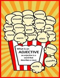 What Is An Adjective Adjective Poster