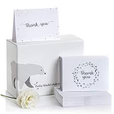 Thank You After Funeral Thank You Cards Set Of 100 2 Designs Blank Notes And Self Seal