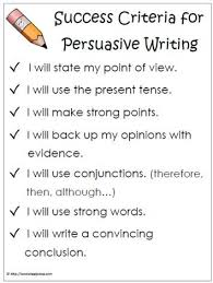 writing a persuasive essay for elementary students six traits of writing essay
