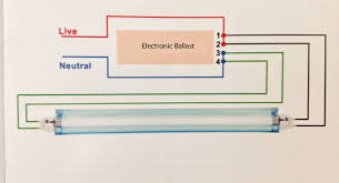 electronic fluorescent ballast circuit diagram images circuit fluorescent ballast wiring diagram led light bulb