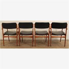 teak dining chairs minimalist erik buch for o d mobler teak dining chairs set of 4