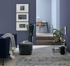 Wandfarbe In Blau Bilder Ideen Couch