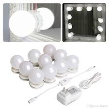 hollywood lighting fixtures. Makeup Mirror Lighting Fixtures. Hollywood Style Led Vanity Lights Kit With 10 Dimmable Fixtures