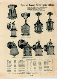 Lighting 1930s House Porch Lights 1939 Simmons Keen Kutter Lighting Catalog