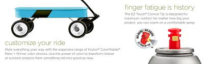 Krylon K05160202 Colormaster Paint Primer Flat Black 12 Oz