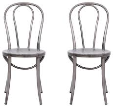 distressed industrial furniture. distressed metal bistro chairs set of 2 industrialdiningchairs industrial furniture