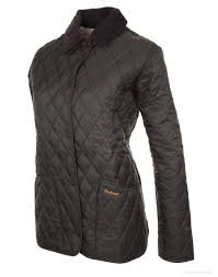 Barbour Ladies' Shaped Liddesdale Quilted Jacket - Dark Olive ... & ... Barbour Ladies' Shaped Liddesdale Quilted Jacket - Dark Olive  LQU0063OL71 ... Adamdwight.com