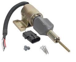 amazon com new fuel shut off solenoid fits case loader 570lxt 580l image unavailable