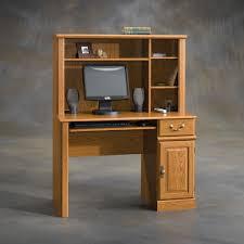 small computer desk hutch