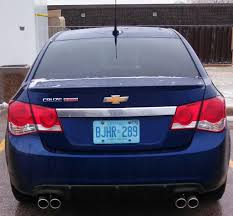 Cruze chevy cruze 2013 eco : Spoiler and Diffuser Installed - Page 2