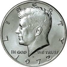1972 Kennedy Half Dollar Value Chart 1972 D 50c Ms Kennedy Half Dollars Ngc