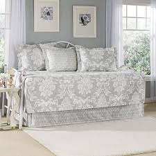 laura ashley daybed sets com 5 piece venetia cover set gray 3