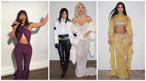 Kim Kardashian Halloween costumes 2017 | Full collection - YouTube