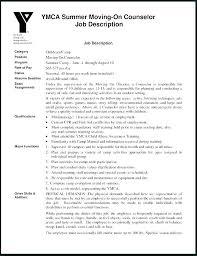 Camp Counselor Resume Sample Monster Camp Counselor Resume Free