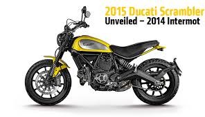 2015 ducati scrambler unveiled 2014 intermot rideapart