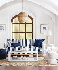 striped sofa ideas for a coastal